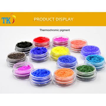 Pó termocrômico do pigmento para o pigmento da mudança da cor da arte 31degree do prego com temperatura