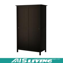 Placard classique de garde-robe de chambre à coucher avec la porte coulissante (AIS-W336)