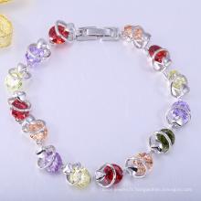 Bracelet d'accessoires de mode, bracelet fait à la main, bracelets de cuivre cadeau de noël
