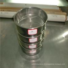 Tamis d'essai de filtre de grillage d'acier inoxydable de 400 microns