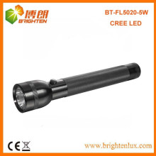 Factory Supply CE ROHS Certification Aluminum 300lumem USA CREE XPG 5W LED Brightest Torch Light With 3D Battery
