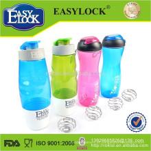 BPA livre plástico esporte shaker garrafa atacado