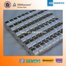 Axial Magnetized ISO9001 neodymium 45sh magnet