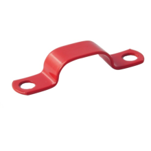 LSZH Coated Red Saddle Copper Fire Clips