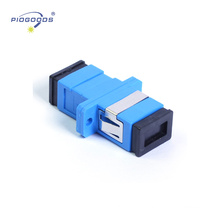 SC single mode optical fiber coupler