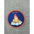 Patch de badge de broderie souvenir personnalisé pour vêtements à repasser