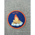Custom Souvenir Embroidery Badge Patch for Iron-on Clothing