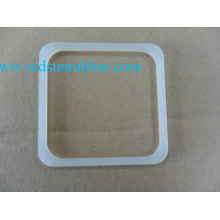 OEM Food Grade Square Clear Silicone Rubber Gasket