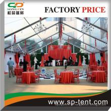 Zu verkaufen 15x20m Hochzeit Dekoration Zelt transparent
