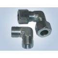 Metric Thread Bite Type Tube Fittings Replace Parker Fittings and Eaton Fittings (90 degree ELBOW REDUCER TUBE ADAPTOR WITH SWIVEL NUT)