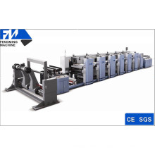 Six Colors High Speed Flexographic Printing Machine
