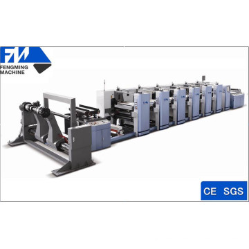 Máquina de impressão Flexo de novo tipo de gama larga