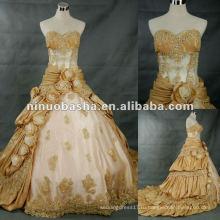 Новая мода реальный образец свадебное платье магазин 2012