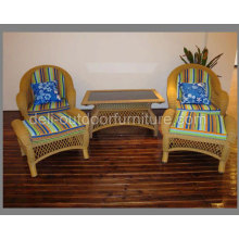 Wicker Garden Zero Gravity Woven Furniture Set