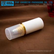 ZB-QH15 15ml natural y respetuoso del medio ambiente 30ml pp plástico cosmético pac kaging