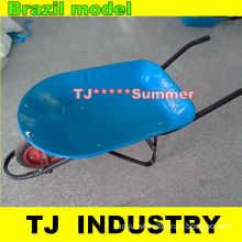 Brazil Power Coated Metal Wheel Barrow