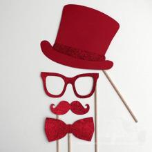Articles de fête Faux Moustache Photo Props Nouveauté Décoration (SP-106)