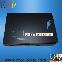 oem custom metal electric control box black with lock nonstanrard size