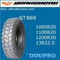 Шина для загрузки шин с радиальным грузовиком 1100r20 1000r20 Производство