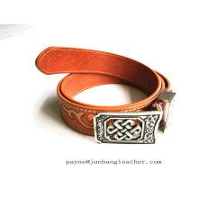 OEM. Brand New Design Foreign Trade Embossed Leather Belts Men′s Leather Belts