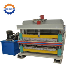 Bumbung Wall Sheet Double Layer Roll Forming Machine