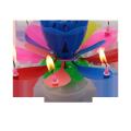 Lotus Birthday Candle - двухслойная горящая музыкальная свеча
