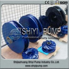 Polyurethane Wear Resistant Long Lifetime Slurry Pump Impeller