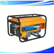 Gerador de gasolina portátil AC 3 Phase Output Type 5.5kw Chongqing Gasoline Generators