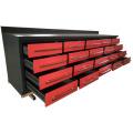 Nuevo banco de trabajo de metal de acero de 10 pies con toboganes resistentes para uso en garaje de Qingdao