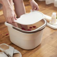 Kunststoff Fußmassage Wascheimer