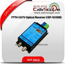 Novo FTTH CATV Receptor Óptico Csp-1010wd