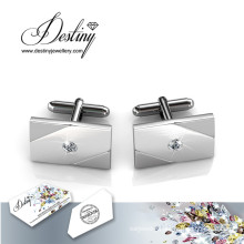 Destiny Jewellery Crystal From Swarovski Simple Cufflinks