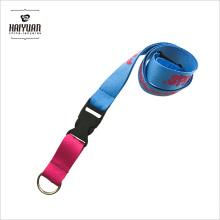 Cordão multicolor de anel de chave multicolor