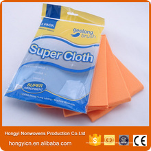 Productos de limpieza de telas sin tejer sin pelusa