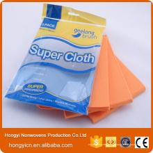 Produits de nettoyage en tissu non tissé non pelucheux