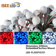 Matriz de Dot LED Full Color DMX512 Pixel