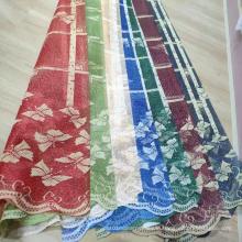 Shaoxing Cheap Lace Warp Mesh Knitting Curtain Fabric