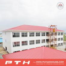 Entrepôt préfabriqué adapté aux besoins du client de structure métallique de 2015 fabricant