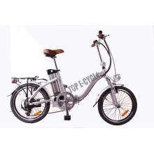 Nuevo diseño 20 pulgadas mini ebike plegable bicicleta eléctrica barata hecha en china