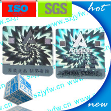 Label Hologram Nomor Seri Scratch Off Series