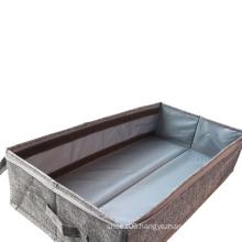 Beige Under Bed Shoe Box