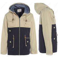 Пальто мужские куртка с капюшоном свободного покроя куртка