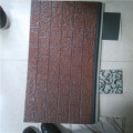 Exterior finished wall panels for prefabricated house