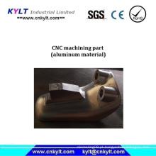 Peça de usinagem CNC de alumínio