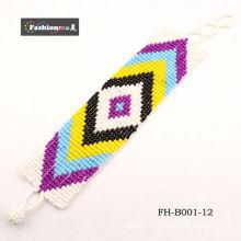 moda encantos braceletes e pulseiras FH-B001-12