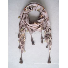 Fashion design 100% viscose pashmina scarf