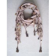 Модный дизайн 100% вискозный шарф из пашмины