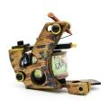 CNC coupe laiton bobine tatouage Machine Gun