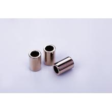 Imán neo de cilindro con recubrimiento de níquel