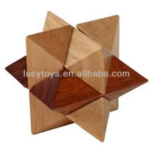 Puzzle de Octagon Magic Sphere 3d de madeira